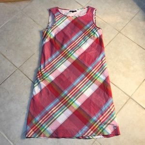 Tommy Hilfiger Plaid Sleeveless Dress, 4